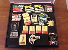 ASSORTED LOT OF SUMMER & WINTER OLYMPIC COCA COLA AND MINUTE MAID PINS