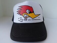 CLAY SMITH CAMS TRUCKER HAT MR HORSEPOWER WOODPECKER RAT ROD VINTAGE BALL CAP