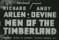 MEN OF THE TIMBERLAND (1941) DVD RICHARD ARLEN, ANDY DEVINE