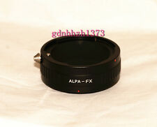 ALPA lens to Fujifilm X-Pro1 Fuji X1 X-E1 FX Mount camera adapter