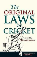 The Original Laws of Cricket (Original Rules) by Bodleian Library  The