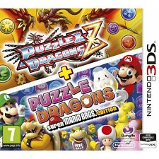 Puzzle and Dragons Z + Puzzle & Dragons Super Mario Bros Edition 3DS Game