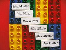 50 Selbstklebende Namensschilder Wäscheschilder Label !