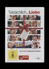 DVD TATSÄCHLICH LIEBE - NICHT NUR ZU WEIHNACHTEN - HUGH GRANT + ALAN RICKMAN NEU