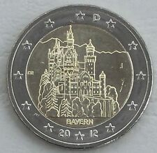 2 Euro Deutschland J 2012 Neuschwanstein / Bayern unz