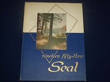1953 THE SEAL TRENTON NEW JERSEY STATE COLLEGE YEARBOOK - GREAT PHOTOS - YB 11