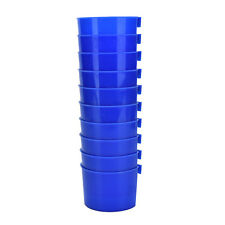 10X Cup Hanging Water Feed Cage Cups Poultry Gamefowl Rabbit Chicken Best CHUS