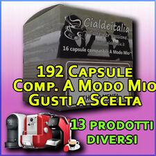192 capsule cialde Caffè, orzo, ginseng, cioccolata, comp. LAVAZZA A MODO MIO.