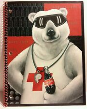 RARE - 1995 COCA COLA Advertising School Notebook Copybook 11.5x8 - ALWAYS COOL