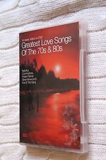 GREATEST LOVE SONGS OF THE 70s AND 80s (DVD)R-ALL,  LIKE NEW, FREE POST AUS-WIDE