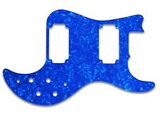 NEW - Pickguard For Peavey T-40 Bass - BLUE PEARL