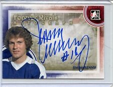2012-13 ITG FOREVER RIVALS JIM MCKENNY AUTOGRAPH