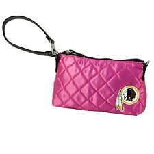 Washington Redskins NFL Pink Littlearth Quilted 8''x5'' Wristlet Purse
