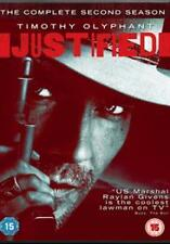 JUSTIFIED - SEASON 2 - DVD - REGION 2 UK
