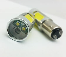 P21/5W 380 BAY15d WHITE 16W HP + CREE LED TAIL STOP CAR BULBS D