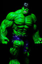Custom Statue GREEN HULK 1/6 SCALE 17 INCHES resin toy kit art INCREDIBLE