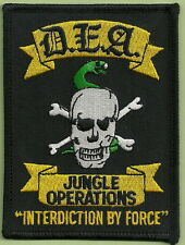 DRUG ENFORCEMENT ADMINISTRATION JUNGLE OPERATIONS POLICE PATCH