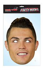 Cristiano Ronaldo Footballer Single 2D Card Face Mask - Portuguese Goals