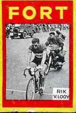RIK VAN LOOY Cyclisme Cycling FORT Chromo card Wielrennen radsport Cyclist #4