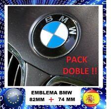 EMBLEMA BMW DE 82MM + 74MM LOGO REF 51148132375 envio BARCELONA capo y maletero