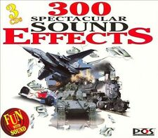 Various Artists : 300 Spectacular Sound Effects (Dig) (3CDs) (2006) LIKE NEW