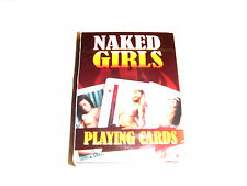 Naked Female Playing Cards standard pack naughty picture adult joke secret Santa