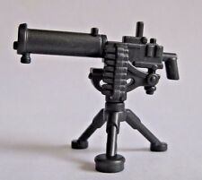 Brickwarriors Machine Gun w/ Tripod for Lego Minifigures NEW WW2 Soldier