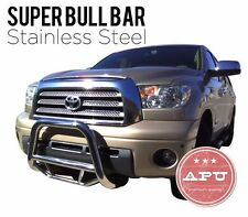 Fits 1997-2004 Ford F150 F250 Stainless Bull Bar Brush Bumper Grille Guard