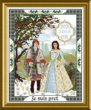 10% Off Chatelaine Counted X-stitch Chart - The Scottish Lovers Tapestry A
