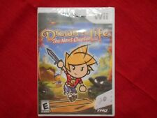 DRAWN TO LIFE:  THE NEXT CHAPTER NINTENDO Wii  FACTORY SEALED!!!  FREE SHIP!!!!!