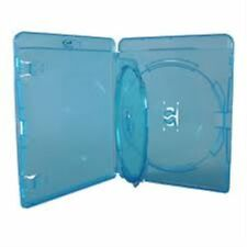 5 Double Amaray Blu ray Case 14 mm Spine with Inner Swing Tray Replacement Cover