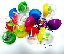 """50X 1"""" capsule filled with 3D Mini maze pinball cube Brain Teaser Toy vending"""