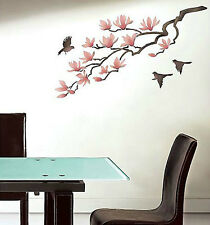 Magnolia Wall Stencil - Reusable Stencils for DIY Decor - Better Than Wall Decal