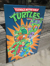 TMNT TEENAGE MUTANT NINJA  METAL SIGN VINTAGE LOOK VIDEO PINBALL COIN AMUSEMENT