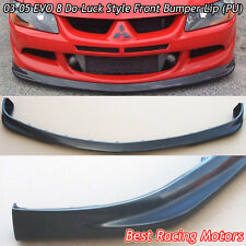 03-05 EVO 8 Do-Luck Style Front Bumper Lip (Urethane)