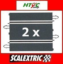 SCALEXTRIC DIGITAL ORIGINAL PACK 2 X RECTA 180 MM COMPATIBLES SCX  B02011X200
