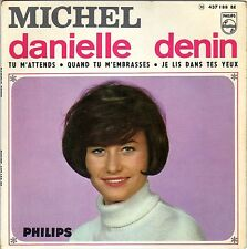 DANIELLE DENIN MICHELLE / I'M LOOKING THROUGH YOU (BEATLES) FRENCH EP PAUL PIOT