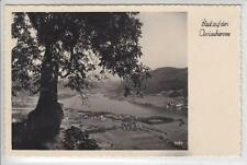 AK Blick auf den Ossiachersee, Foto-AK 1955