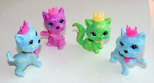 4 Barbie Diamond Castle Glitter Cats 2008 Mattel