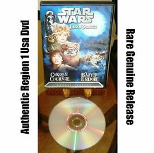 Star Wars Ewok Adventures: Caravan of Courage / The Battle for Endor (DVD 2004)