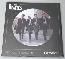 (PRL) THE BEATLES 4 FAB PUZZLE TOY 212 PZ REAL LP SIZE COLLECTION 21403 PHOTO