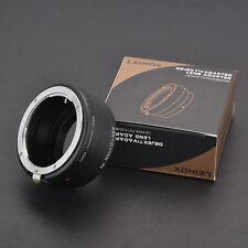 LEINOX AI(G)-NEX for Nikon G/AI/AIS Lens to Sony E A7 A7II with aperture lever