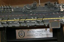 TMC Pacific Modelworks Mahogany 1/700 scale Ship USS IWO JIMA LHD-7 +BOOK & MORE