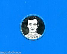 KICA - Sorprese Decalcomania Figurina-Sticker anni 60 - CORSO SCUDETTO METALLO