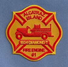 ALCATRAZ PRISON CALIFORNIA FIRE DEPARTMENT PATCH