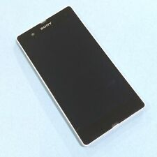 Original Sony Xperia Z Blanco Frontal + digitalizador Touch + Display Lcd Pantalla N Vibrador