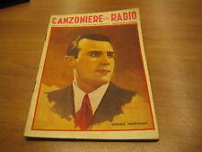 CANZONIERE DELLA RADIO 30° FASCICOLO - LIRE 1.20 - COPERTINA BAGGIOLINI
