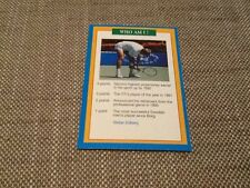 Stefan Edberg tennis A Question of Sport Premier game card 1996/1997 Sweden