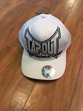 New Tapout White Flexfit Cap MMA S/M