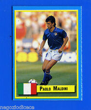 TOP MICRO CARDS - Vallardi 1989 - Figurina-Sticker - MALDINI - ITALIA